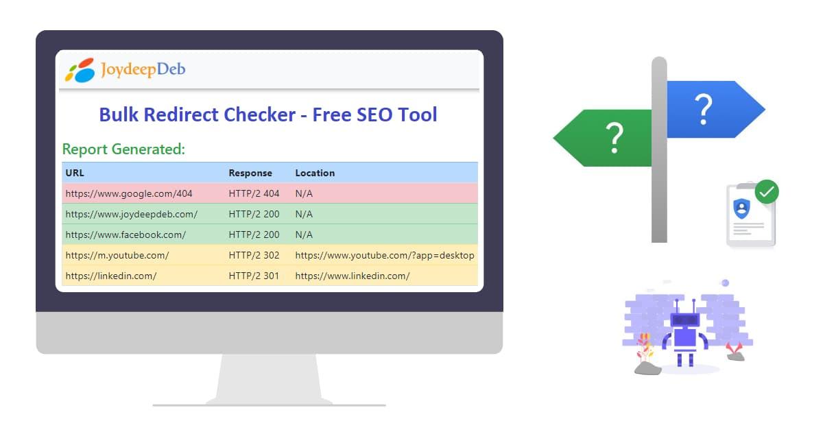 Bulk URL HTTP Status Code, Header & Redirect Checker