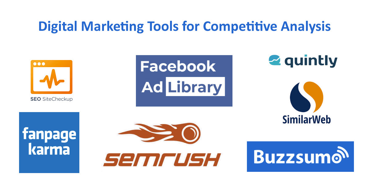 Digital Marketing Tools for Competitive Analysis