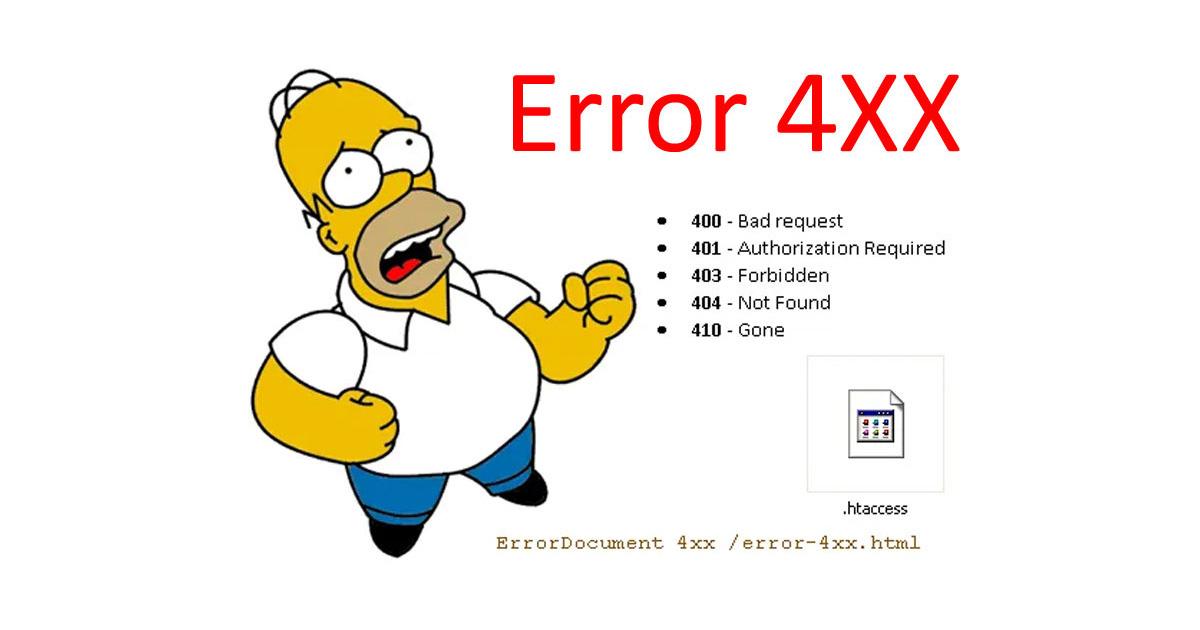 How to setup Custom Error Pages