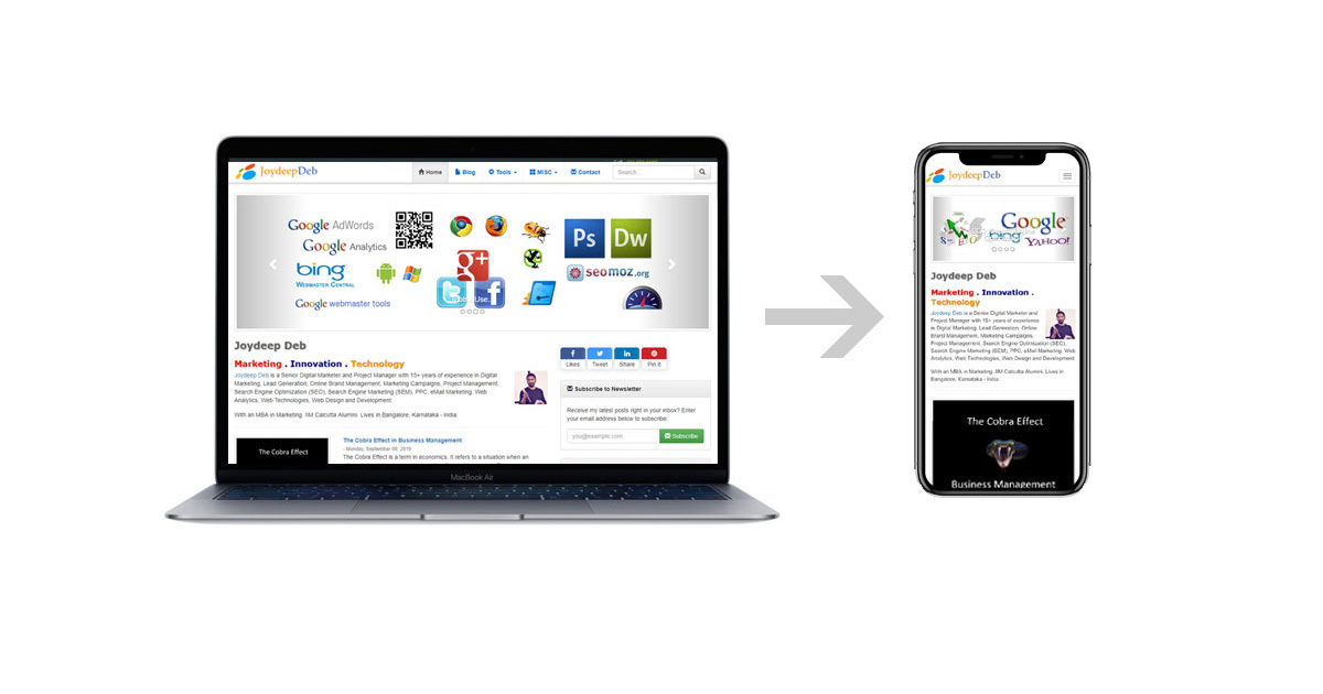 How to avoid duplicate content issue caused by mobile website