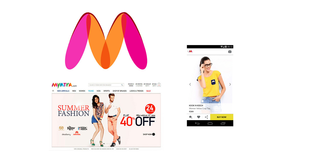 Mobile Website vs. Mobile App - Case Study on Myntra