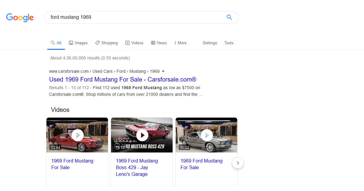 Google Search: Rich Snippets for Events