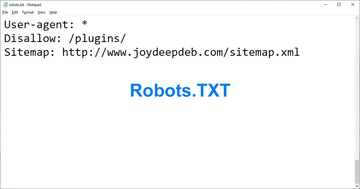 Utilize your 'robots.txt' file efficiently