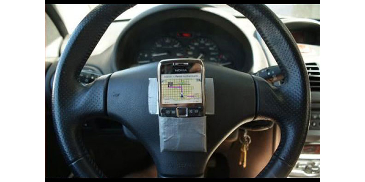 Can't afford a real GPS? I can fix that!