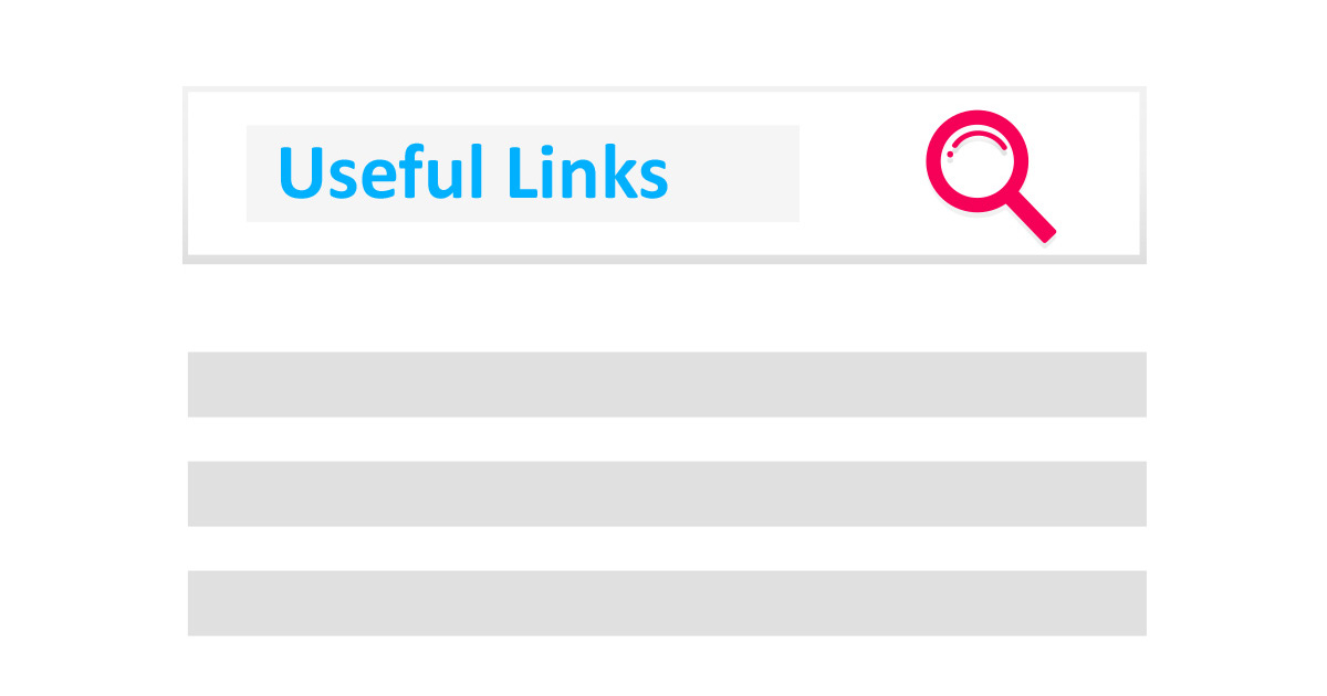 Useful Links - SEO Tools